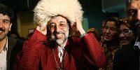 غلامعلی حداد عادل رئیس فرهنگستان زبان و ادب فارسی ایران